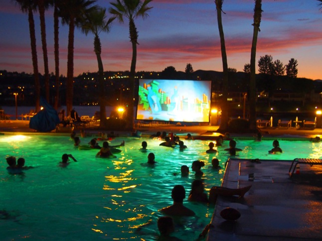 Flick-n-Float Movie Night scheduled for September 12