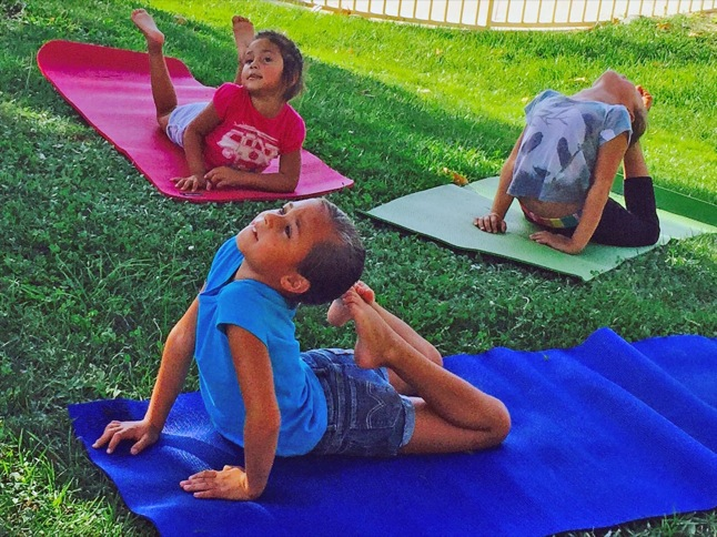 Free Parent Child Yoga Class offered