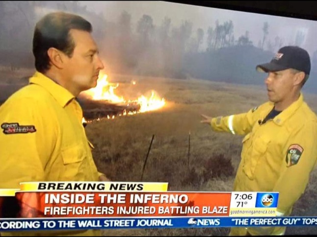 Capt. Jeff Roberts returns from 17 days at Northern California fires