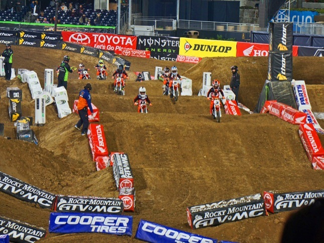 Chase Carr takes 2nd at Monster Energy Supercross