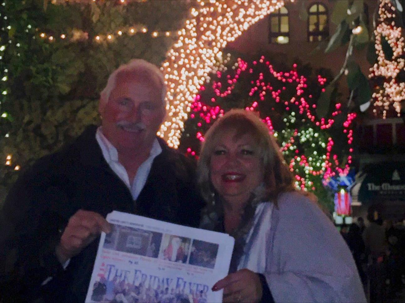 Near and Far with The Friday Flyer: Reeves/Norris visit Mission Inn