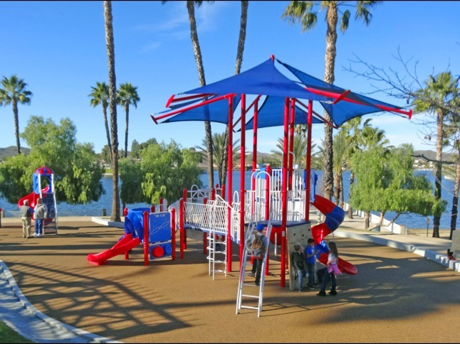 Holiday Harbor has a brand new playground