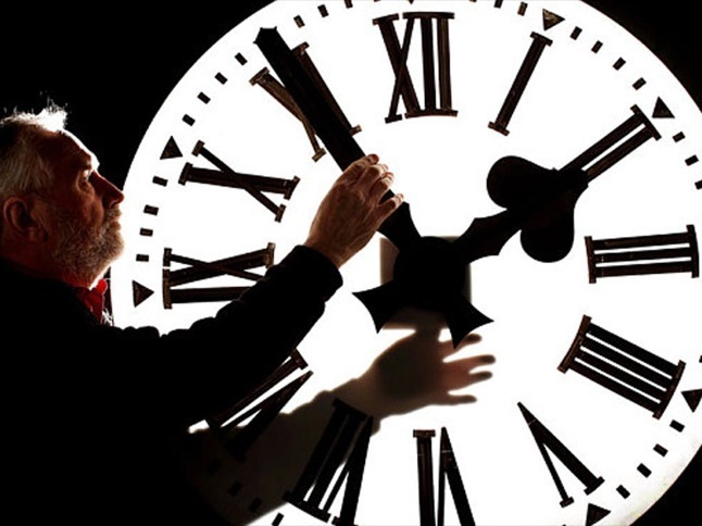 Spring forward for Daylight Saving Time