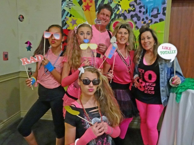 Ski Club '80s-themed awards banquet is 'da Bomb'