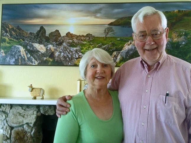 Irish natives David and Marie Johnston talk about their homeland