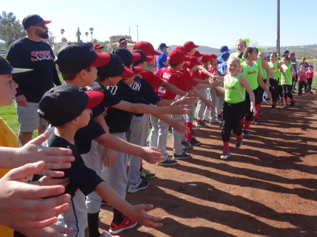 High fives for Canyon Lake Little League, Girls Softball