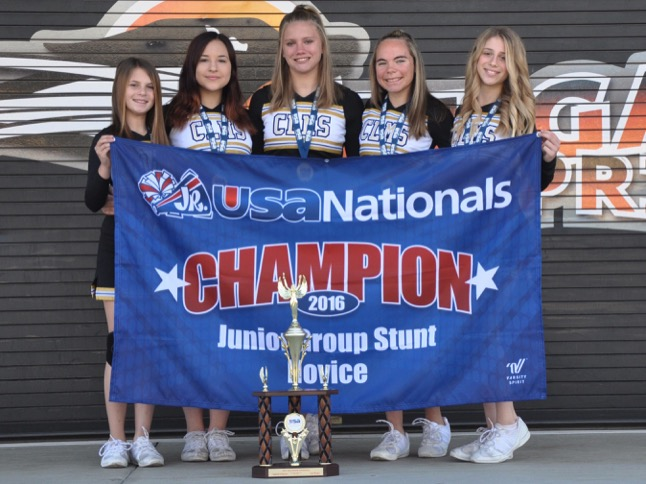 CLMS Cheer excels at Jr. Spirit Nationals