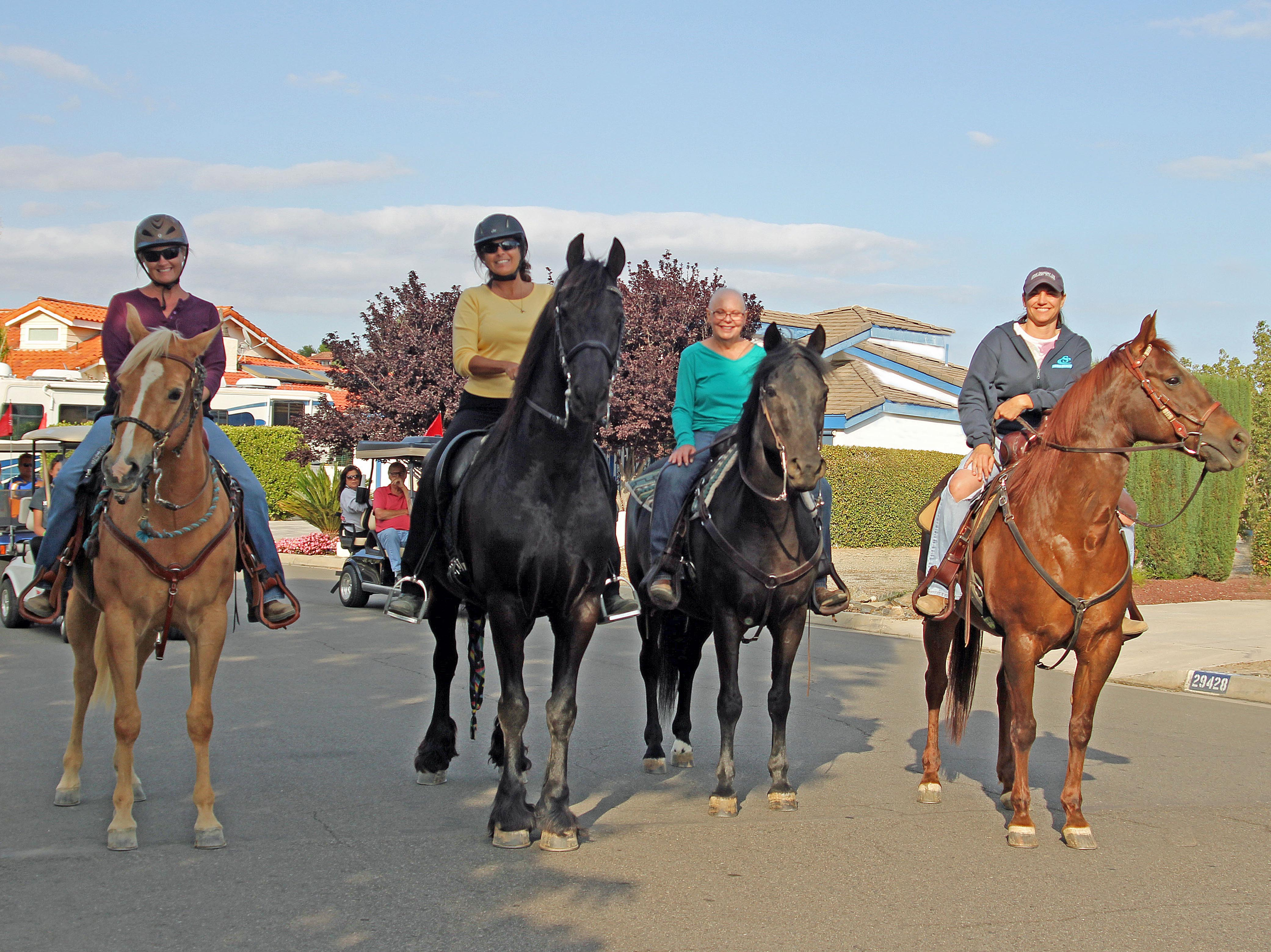 Equestrians will ride for a cause in Fiesta Day Parade