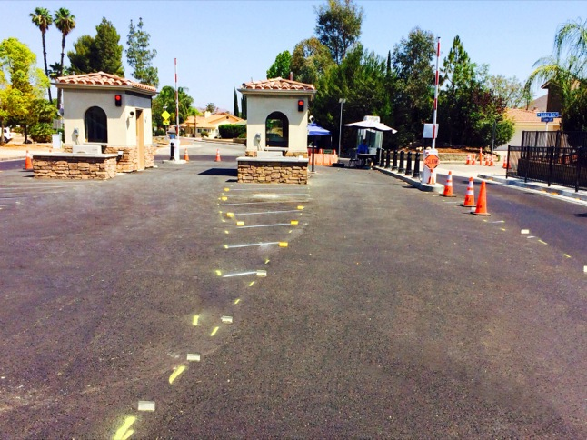 Main Gate almost ready for 4th of July crowds