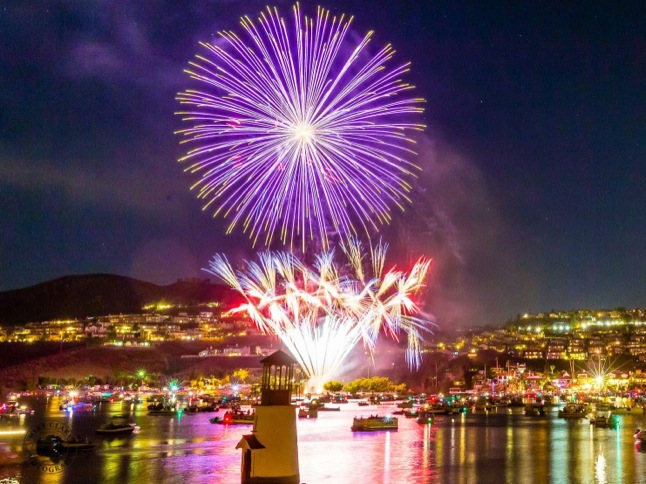Fireworks show dazzles crowd of thousands