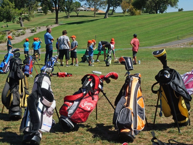 Everyone's a champ at Junior Golf Camp