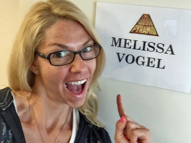 Melissa Vogel to be on $100,000 Pyramid