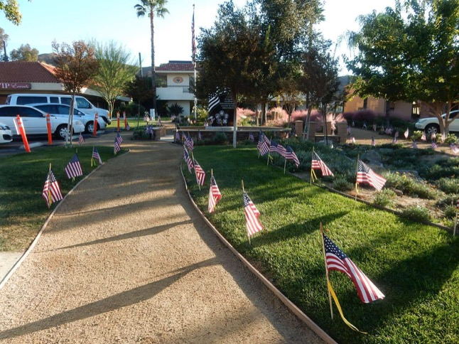 Honor a loved one with a flag in the Field of Honor