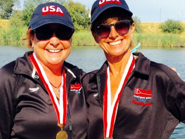 Canyon Lake skiers medal at world championship in Spain