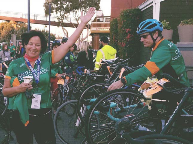 Cherie Fitzpatrick rides eight days for a cause