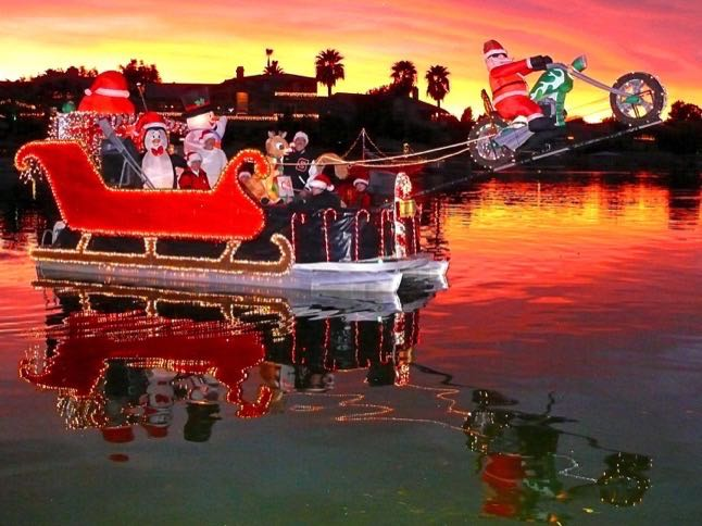 Boat Parade of Lights Saturday