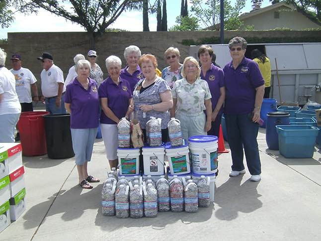 Lioness Club collecting pull-tabs for a good cause