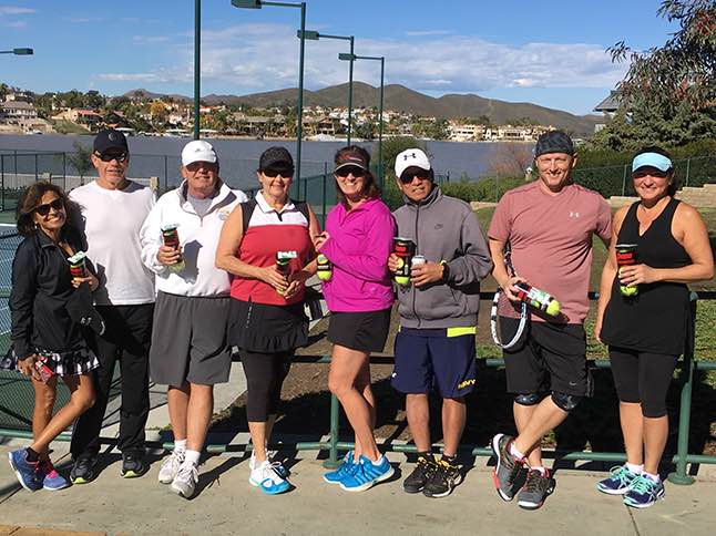 Tennis Club New Year/New Member Tournament winners announced