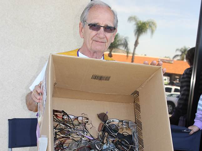 Help others, donate unwanted eyeglasses to Lions Club